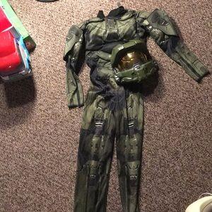 S (4-6) Halo Costume